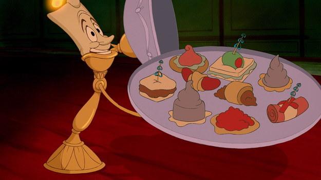 Disney Movie Food- The Grey Stuff