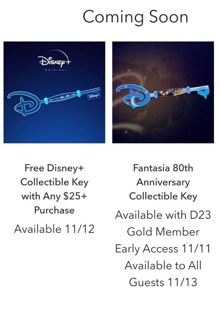 Disney's Collectible Keys