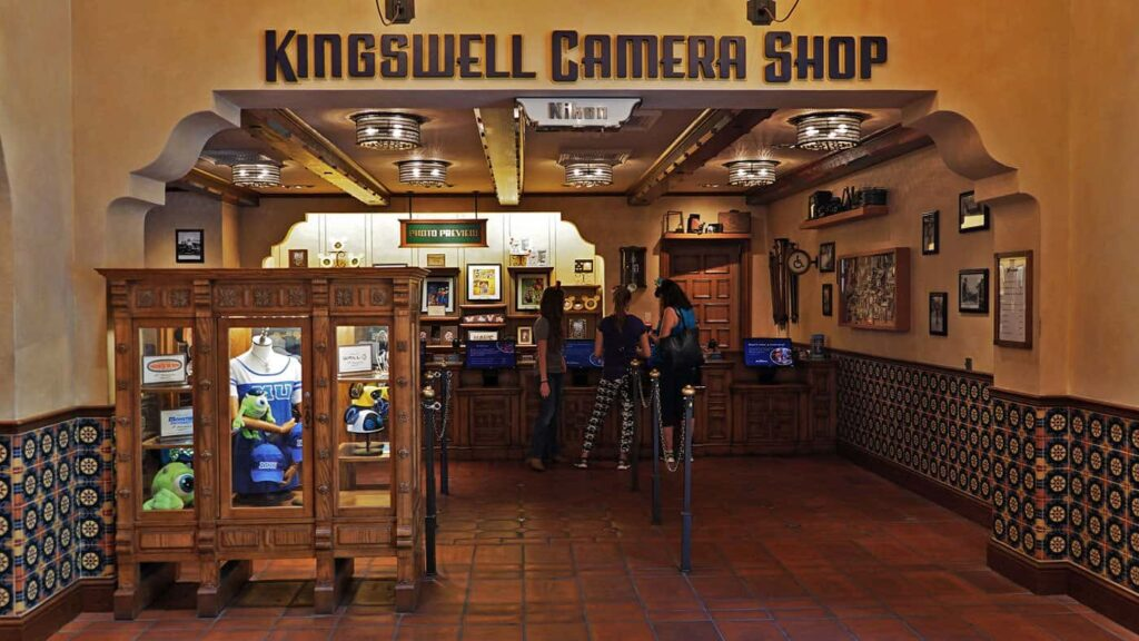 Buena Vista Street Kingswell Camera Shop