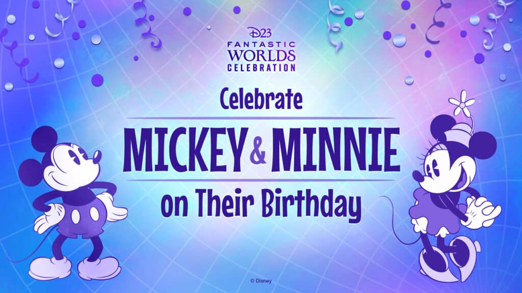 Mickey and Minnie Celebration